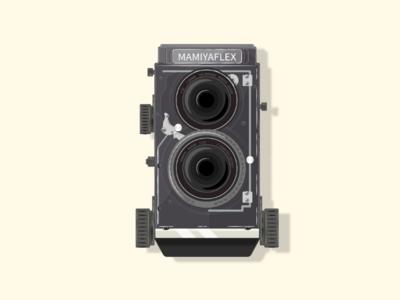 Retro camera photography retrocamera camera vector illustration flatillustration flatdesign flat adobe illustrator 100daysofillustration
