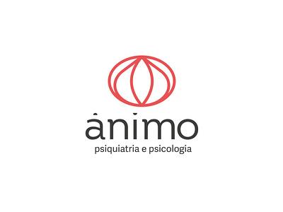 Ânimo - construction grid visualdesign psychology psychiatry naming logodesign logo branding grid logo grid