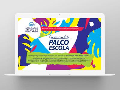 Children`s Theatre graphicdesign illustration socialmedia printdesign texture pattern brazil children theatre