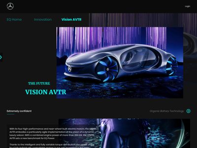 Mercedes-Benz colors flat ui  ux mercedes-benz uiux type ux website web ui minimal branding design