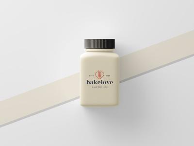 Bakelove Products – 3D Design 3d 3d mockup 3d design bottle design medicine bottle mockup capsule bottle product design design mockup design mockup