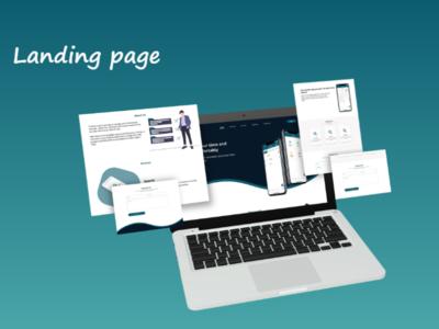 landing page user interface design user interface user experience ux ui website website design landing page design landing page adobe xd design