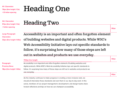 Typography design guidelines proxima nova clarendon letter spacing tracking line height leading spacing ui kit typography