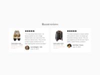 Vestiaire Collective Home Desktop Redesign - Reviews