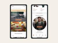 Vestiaire Collective Home Redesign - Mobile