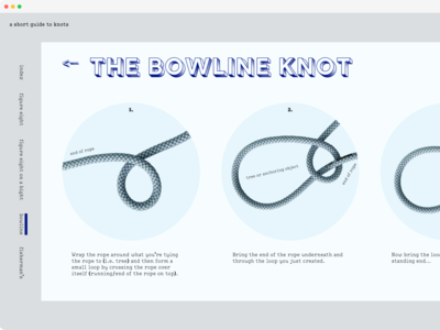 a short guide to knots