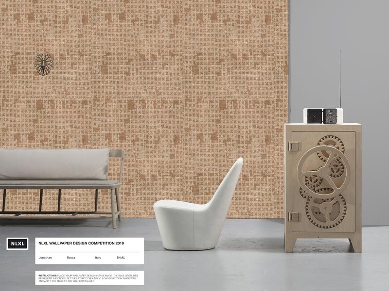 Nlxl Design Scenography wallpaper architect illustration interior