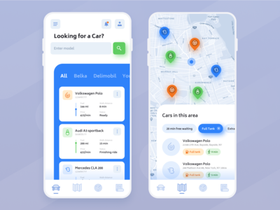 Daily UI 20 – Location Tracker