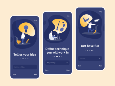 Daily UI 23 - Onboarding