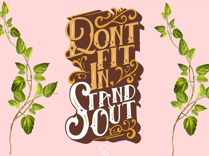 Quotes Typography art vector learn typography