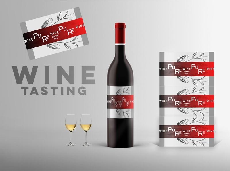 Custom Wine Label Design mokeup illustrator drinks stayhome procreate taste black white colours vector branding design lable wine custom