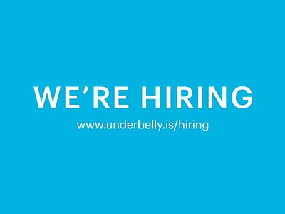 We're Hiring Product Designers! 🐳 utah product design salt lake city agency jobs careers hiring