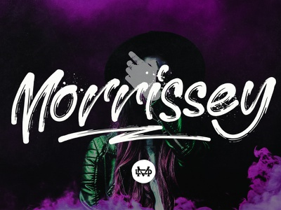 Morrissey Script bold font display font signature font handlettering opentype creative branding logotype typography goodtype brush lettering