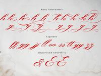 Alternative Glyphs