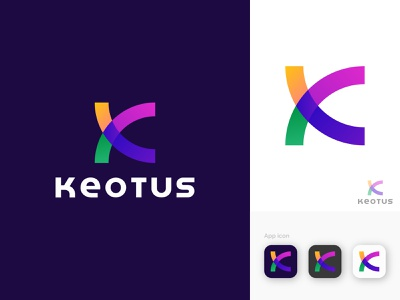 Logo Design | K letter mark | K initial logo 3d graphic design animation illustration brand design brand identity typography colorful modern logo logotype logomark logofolio design logos branding logo design logo