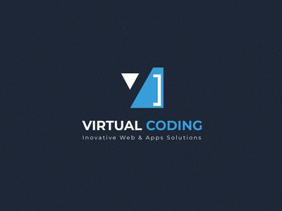 virtual coding logo
