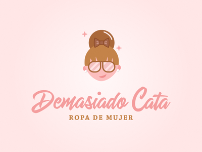 Demasiado Cata online store womens clothing clothing brand illustration branding