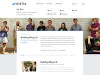 The New Blog Design