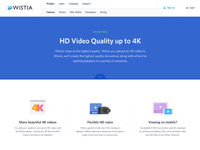 HD Video Product Page