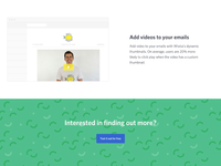 Email Marketing Product Page