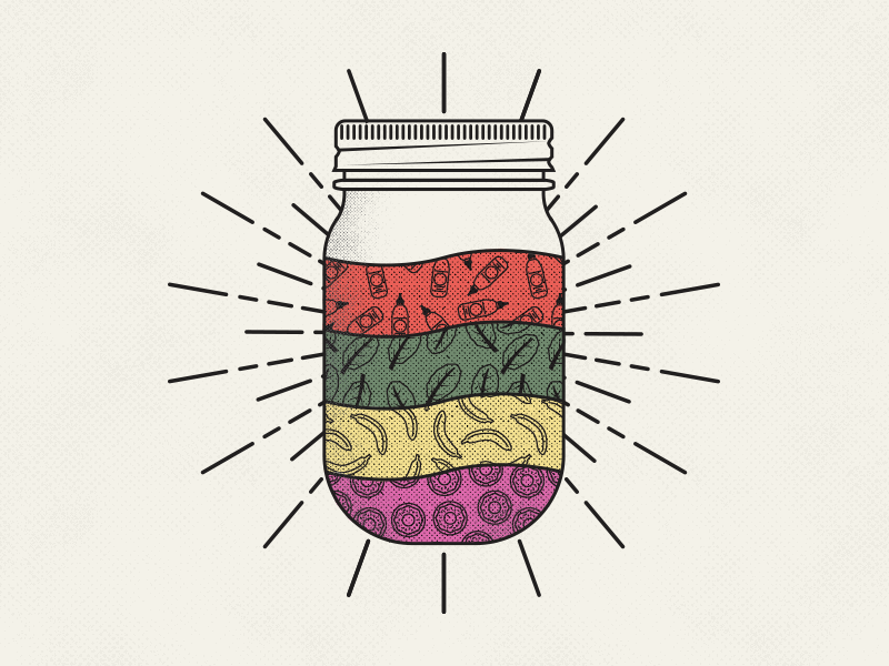 Jar patterns