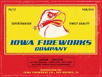 Iowa Fireworks Co. Postcard