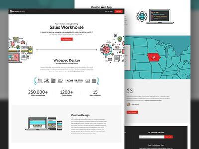 Webspec Landing Page