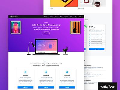 Modular UI Kit | Webflow Template ui ui kit webflow