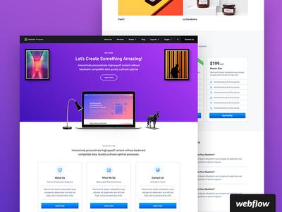 Modular UI Kit   Webflow Template ui ui kit webflow