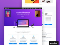 Modular UI Kit | Webflow Template