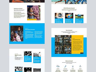 UNICEF NZ | Redesign Part 2 unicef redesign webflow non profit