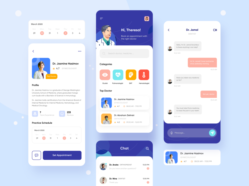 Mobile App — Doctor Consultation