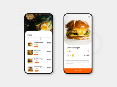 #Exploration - Food Menu App
