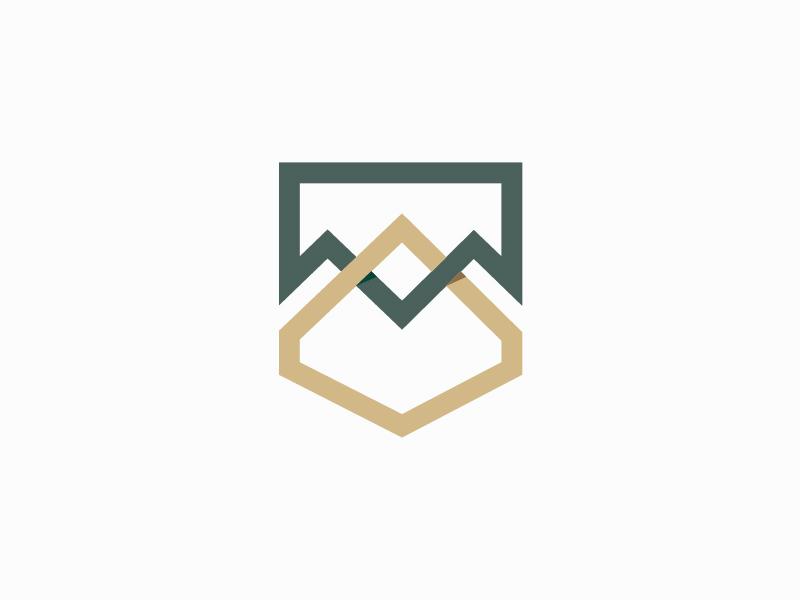 Alberta Icon paperleaf branding logo icon identity wip alberta mountains prairie
