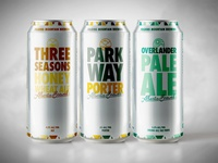 Folding Mountain Brewing Cans