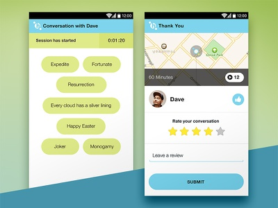 Hellocafe creative direction ui android