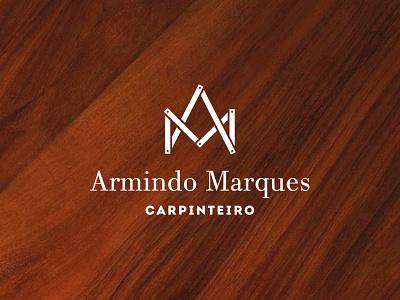 Armindo Marques Carpinteiro wood woodworking carpenter branding