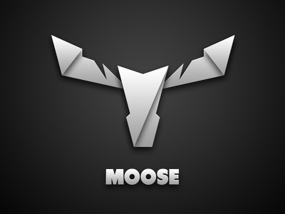 Moose Professional Audio Logo volume shades branding logo