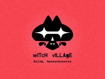 Witch Village cat logo thunderdome bsds bay state design shop