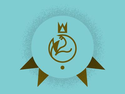 Seal of Approval bay state design shop thunderdome bsds badge medal lineart simple seal illustration