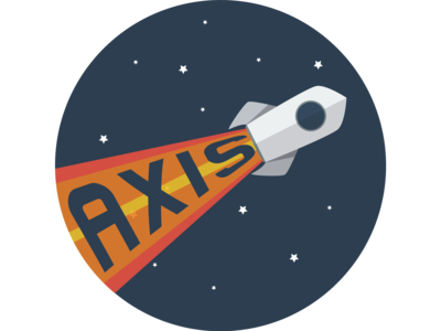 Rocketship Logo - Axis