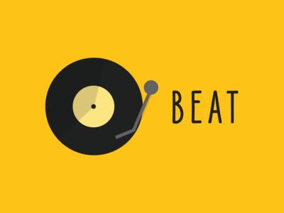 Streaming Music Startup Logo - BEAT