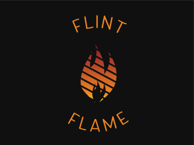 Flame Logo - Flint Flame