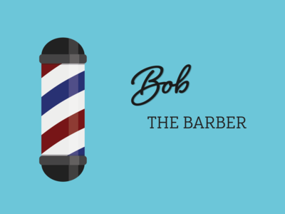 Barbershop Logo - Bob the Barber