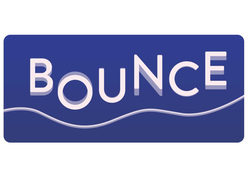 Social Media Website - Bounce logodesignchallengeday34 dailylogochallengeday34 socialmediawebsite bounce vector design logo 2d logodesignchallenge logo dailylogochallenge