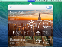 Weather & World Clock App