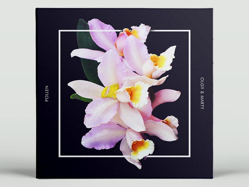 Pollen Playlist Cover minimal flower mixtape playlist cover album music