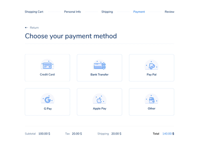 Payment - Daily UI Challenge 02