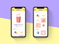DailyUI #043 Food/Drink Menu
