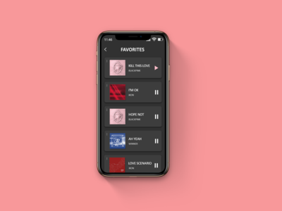 DailyUI #044 Favorites